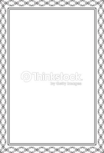 Ñool ornate frame vector art thinkstock