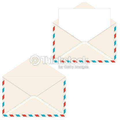 Open Envelope With Letter Vector Art Thinkstock