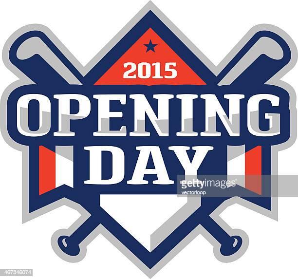 Jour de l'ouverture avec Logo