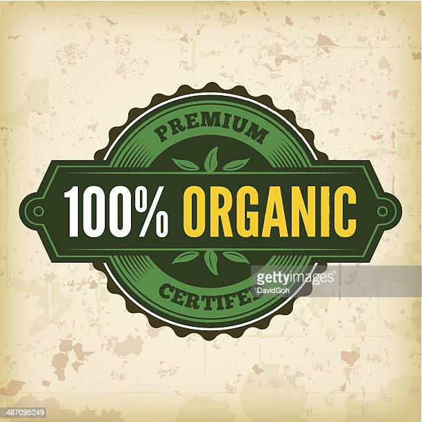 Organic Farm Fresh Label 4