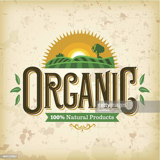Organic Farm Fresh Label