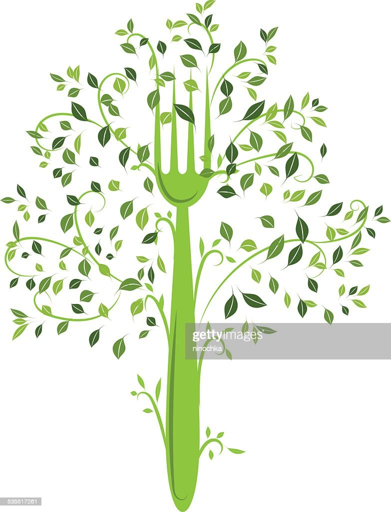 Organic Food Tree Vector Art   Getty Images