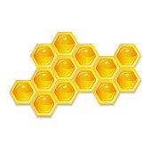 Organic raw honey. Healthy food production. Environmentally friendly product