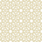 oriental seamless ornamental pattern