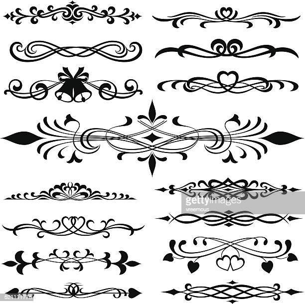 Ornate decorative swirls and design elements.