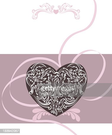 Ornate Invitation : Vector Art