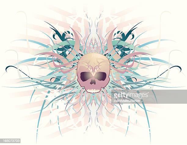 Ornamentado cráneo