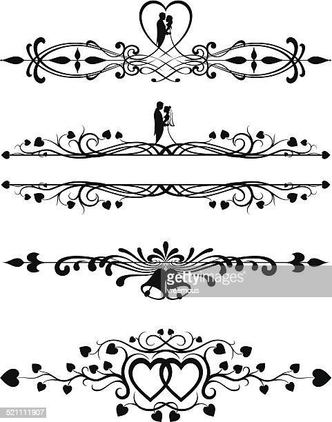 Ornate Wedding Scrolls