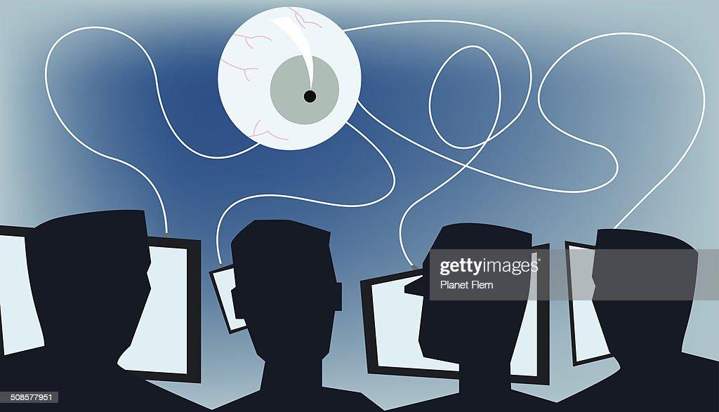 Orwell Welt : Vektorgrafik