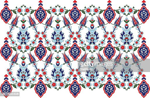 Turkish Design ottoman turkish design pattern vector vector art | thinkstock