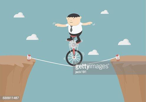 Superar obstáculos na vida : Arte vetorial