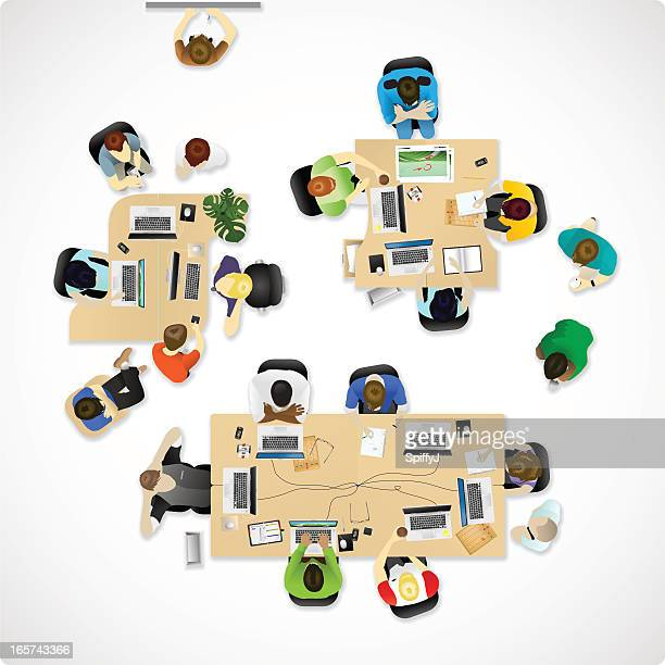 Overhead office or agency