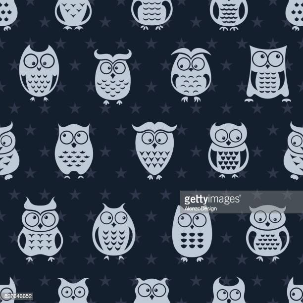 Owl Repeat Pattern