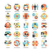This pack consists of teamwork, organization icons that are great for presentations, web design, web apps, mobile applications or any type of design projects.