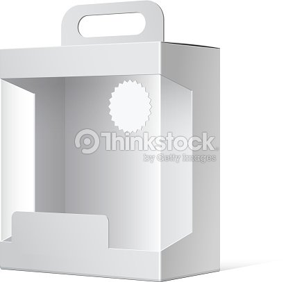 Package Cardboard Box With A Handle Vector Art | Thinkstock