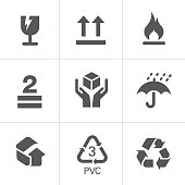 Vector Packaging Signs & Symbols