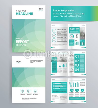 Page Layout For Company Profile Annual Report And Brochure Layout - Brochure layout template