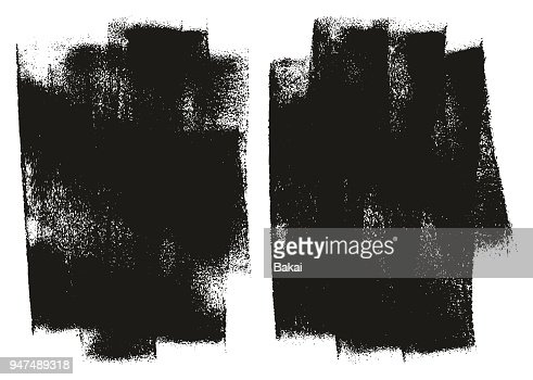 Paint Roller Background High Detail Abstract Vector Background Set 132 : stock vector