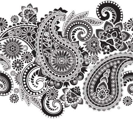 paisley vector art thinkstock. Black Bedroom Furniture Sets. Home Design Ideas