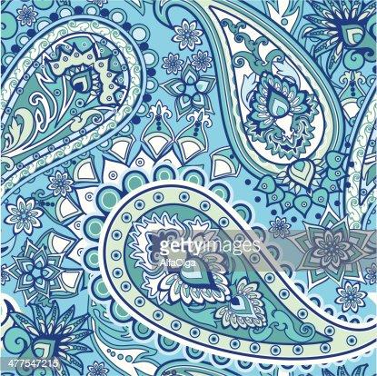 Paisley Vector Art | Thinkstock Indian Culture Patterns