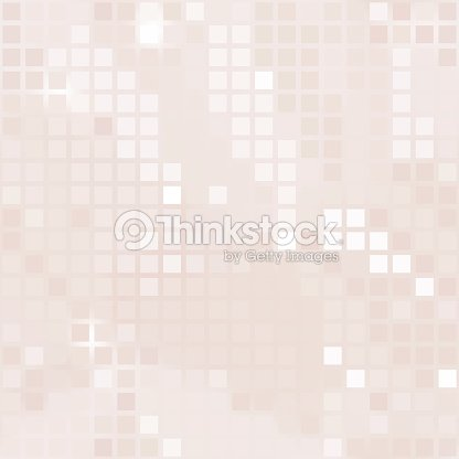 Pale Pink Background Of Small Squares Vector Art