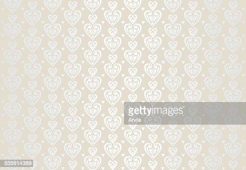 Fondo de tarjeta de boda de color pálido decorativa : Arte vectorial
