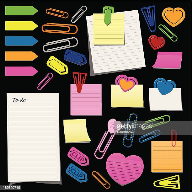 Paper Clips and Post-its