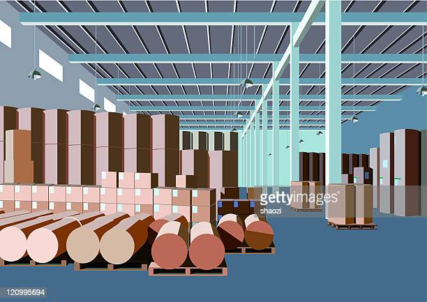 paper factory warehouse