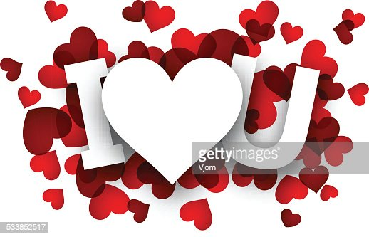 paper love sign vector art | thinkstock