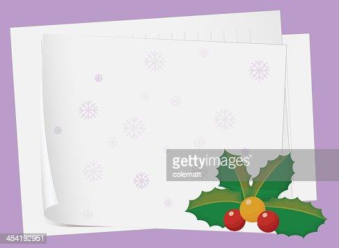 Folhas de papel e Cereja : Arte vetorial
