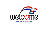 paraguay, country, flag, vector, icon