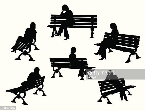 Park Bench Stock Illustrations And Cartoons Getty Images