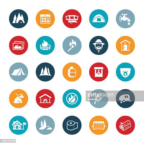 Parks and Campground Icons
