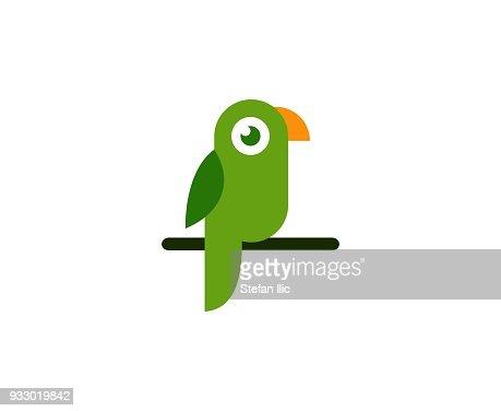 Parrot icon : stock vector
