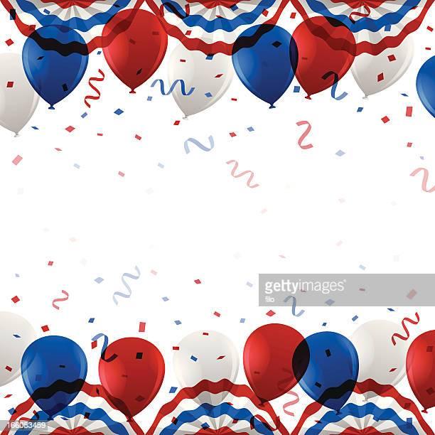 USA-Party Hintergrund