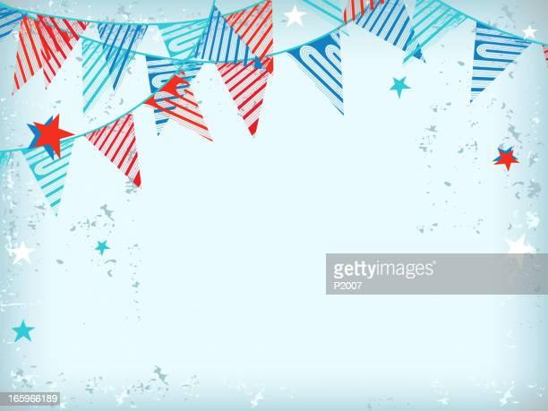 Party Flagge Hintergrund