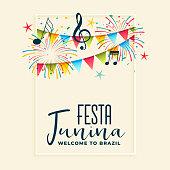 festa junina celebration party background