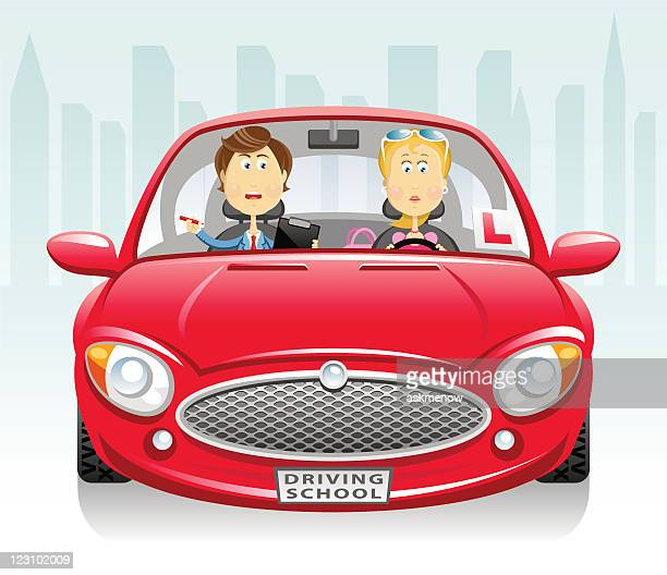 Driving Test Stock Illustrations and Cartoons   Getty Images