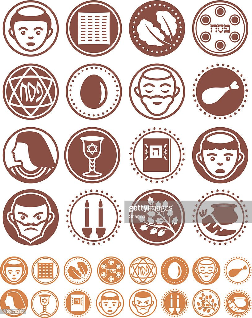 Passover - Seals Collection : Vector Art