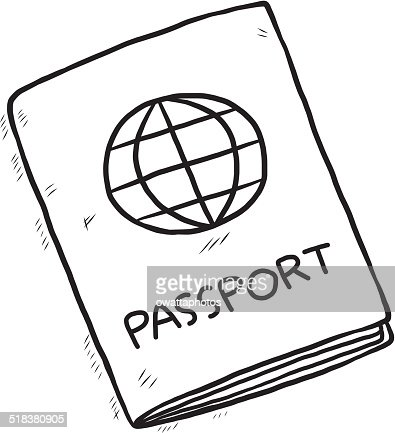 Image result for pasaporte dibujo