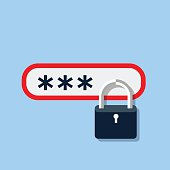 Password protected icon