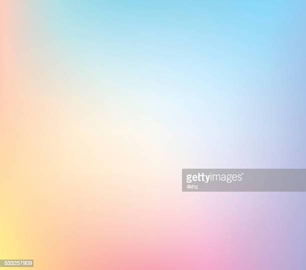 Pastel Defocus Multi Color Gradient Stock Vector Background