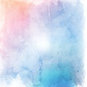 Pastel grunge watercolor style texture background