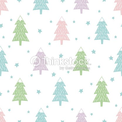pastel happy new year background simple seamless retro christmas pattern vector art