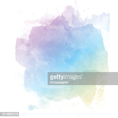 Pastel watercolour background : stock vector