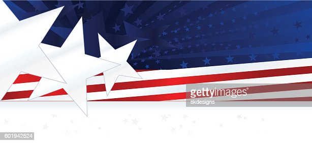 patriotic background or banner red white blue with stars stripes vector art getty images. Black Bedroom Furniture Sets. Home Design Ideas