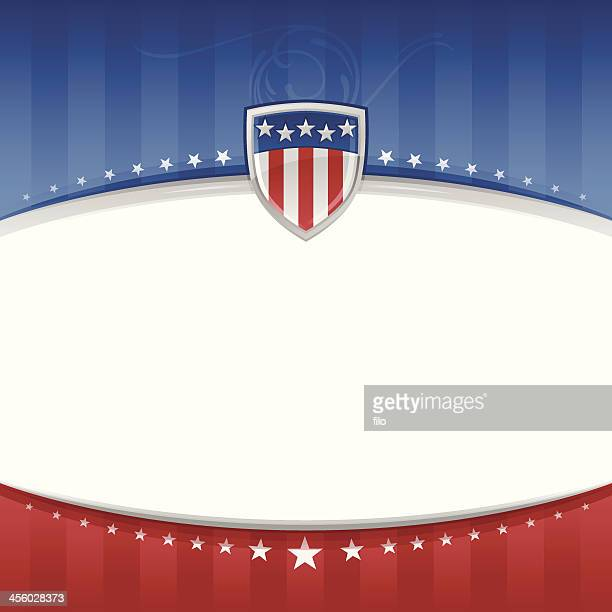 Sfondo patriottico USA