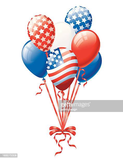 Patriotische Balloon Bund