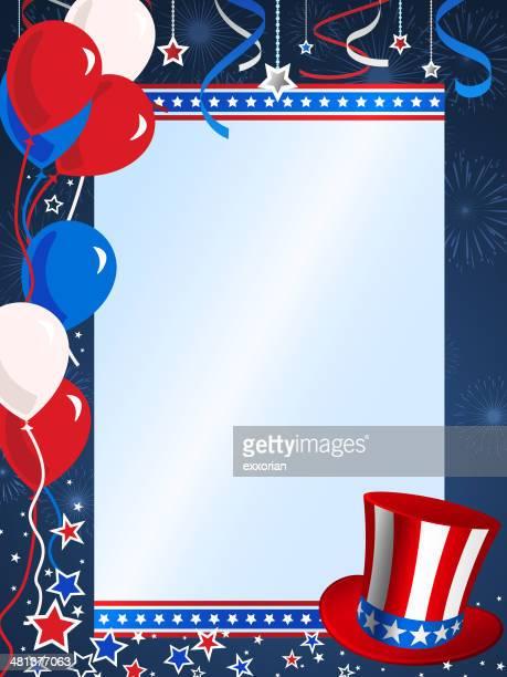 Patriotische Frame