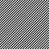 Pattern stripe seamless black and white colors. Diagonal pattern stripe abstract background vector.